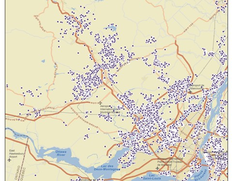 Map - EA-SR ArcMap - Streets