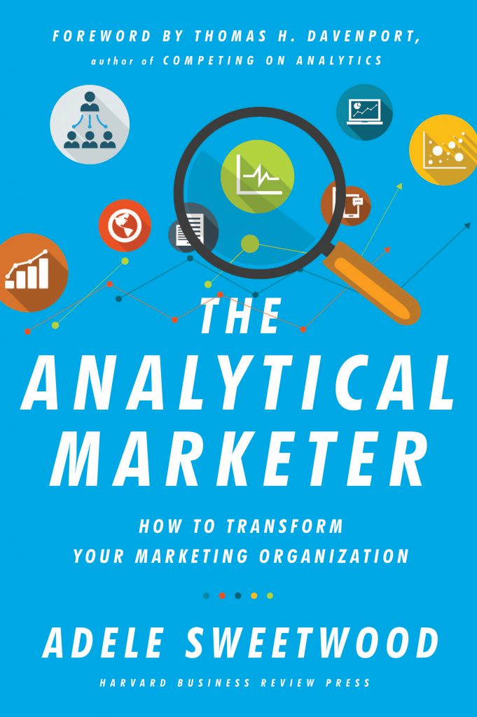 The Analytical Marketer book cover